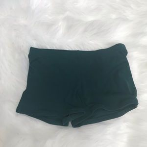 Body Wrappers Dance Bootie Shorts Sz Sm
